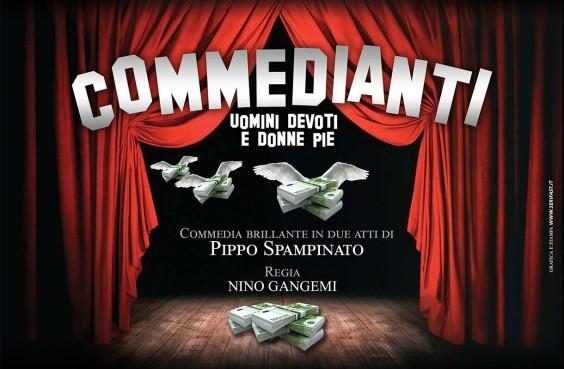 locandina I commedianti