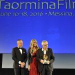Premiazione Marco Bellocchio Taormina Film Fest 2016
